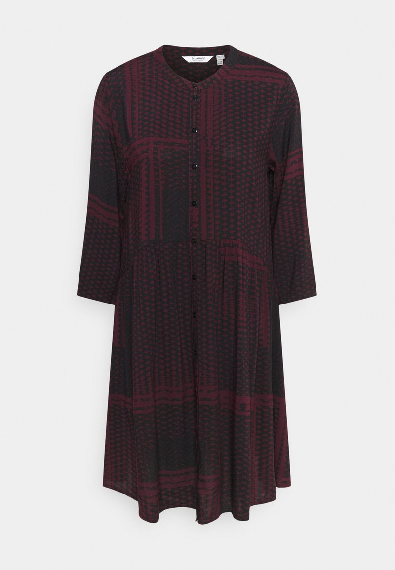 b.young - BYILLA DRESS  - Day dress - dark red