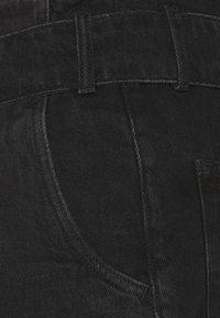 AllSaints - DIXIE PAPERBAG - Denim shorts - washed black - 2