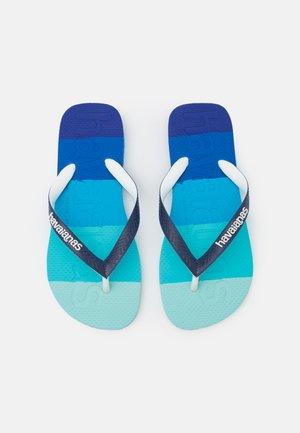 LOGOMANIA UNISEX - T-bar sandals - marine blue