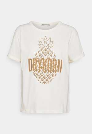 LARIMA - Print T-shirt - ecru