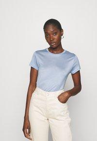 Lindex - TOM - Basic T-shirt - light blue - 0