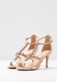Lulipa London - DAISY - High heeled sandals - light metallic - 4