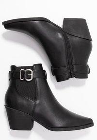 New Look - BRICK - Boots à talons - black - 3