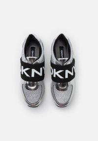 DKNY - MARLI - Slip-ons - silver - 4