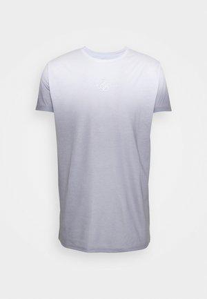 HIGH FADE TEE - Print T-shirt - white/grey