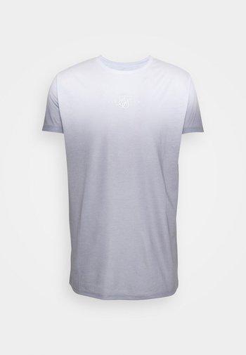 HIGH FADE TEE - Camiseta estampada - white/grey