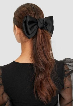 MIT SATINEFFEKT - Hair styling accessory - black