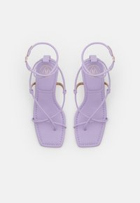 Missguided - STRAPPY TOE MID HEEL  - T-bar sandals - lilac - 5