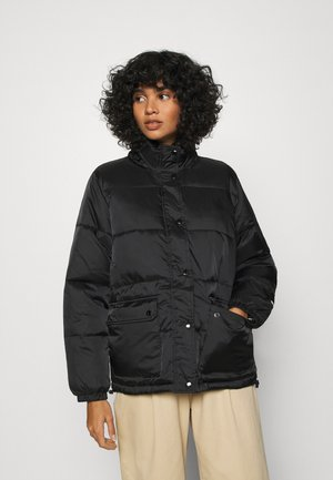 IRVING PUFFY COAT - Light jacket - black