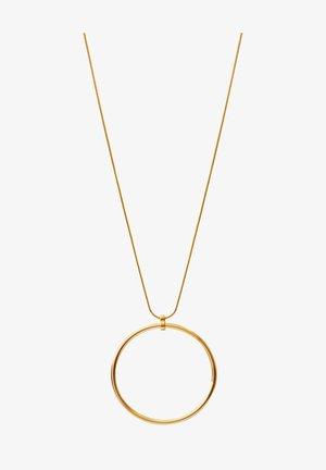TABITHA SINGLE CIRCLE - Halsband - gold plating