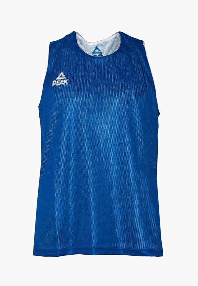 MIT PLUS COOL-TECHNOLOGIE - Sports shirt - blau - weiß