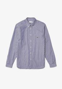 Lacoste - Shirt - blanc / bleu marine - 4