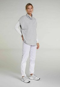 Oui - Top - light grey - 1