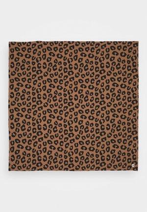 SHAWL NURSING BLANKET LEO UNISEX - Baby blanket - brown