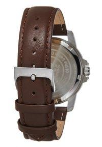 Swiss Military Hanowa - SWISS RECRUIT II - Watch - brown/silver-coloured/black - 2