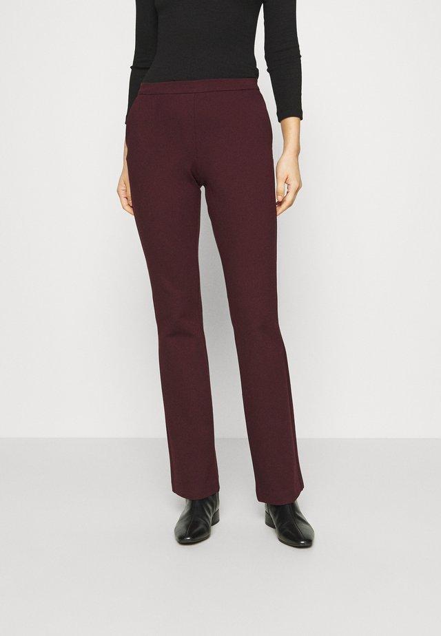 TANNY FLARE PANTS - Pantaloni - pansy