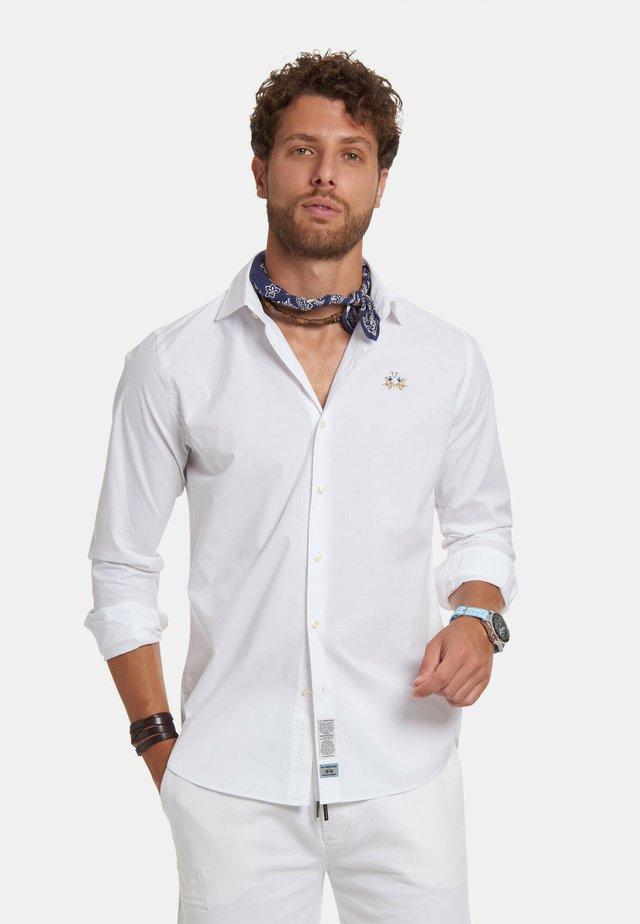 RENEO - Camicia - optic white