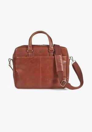 CARTER - Laptop bag - brown