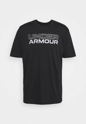 BLURRY LOGO WORDMARK  - T-shirt imprimé - black/mod gray