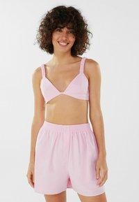 Bershka - Shorts - pink - 0