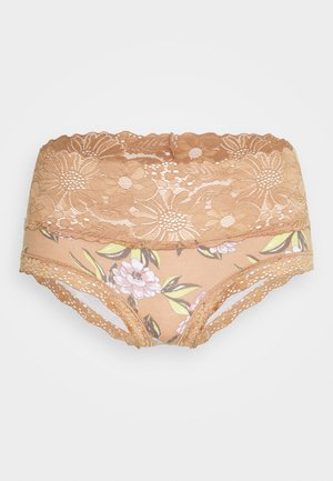 GARDEN PARTY CHEEKY PRINTED - Slip - raw sienna