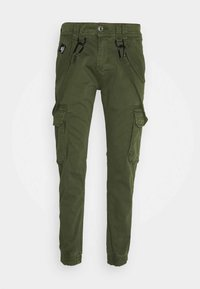 Alpha Industries - UTILITY PANT - Cargo trousers - dark olive - 4