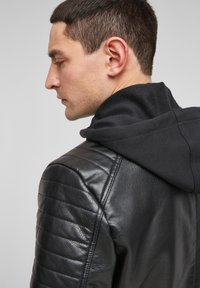 Q/S designed by - Faux leather jacket - black - 5