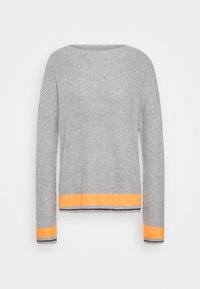 Cartoon - Jumper - grey/orange - 4