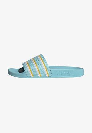 ADILETTE SLIDES - Slippers - blue