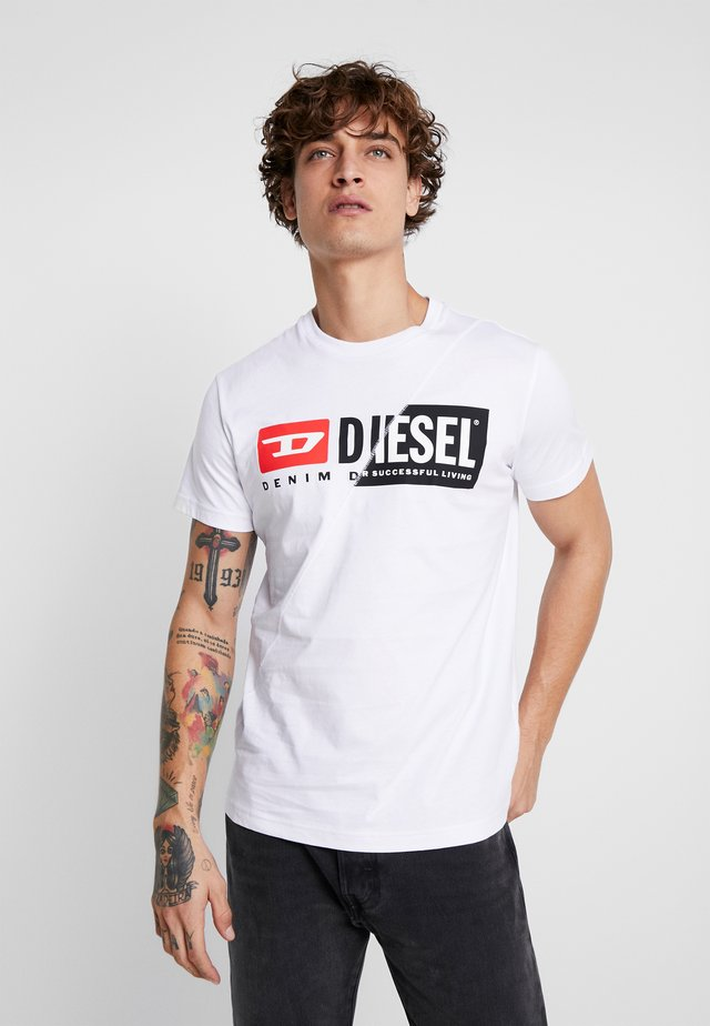 DIEGO CUTY - T-shirt con stampa - white