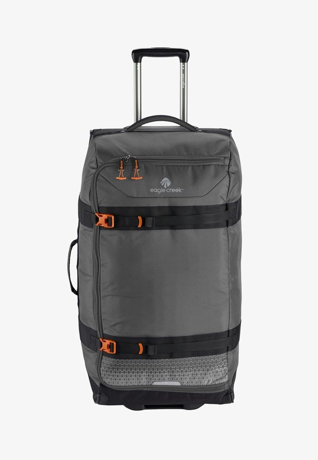 Wheeled suitcase - stone grey