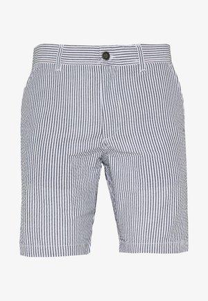 JJISEERSUCKER - Shorts - light blue
