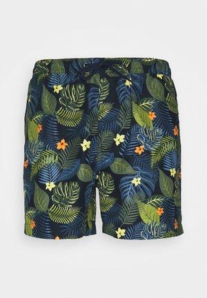 SANDFORD - Swimming shorts - navy/multi