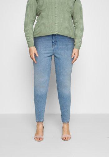 PLUS MILE HIGH SS - Jeans Skinny Fit - galaxy hazy days