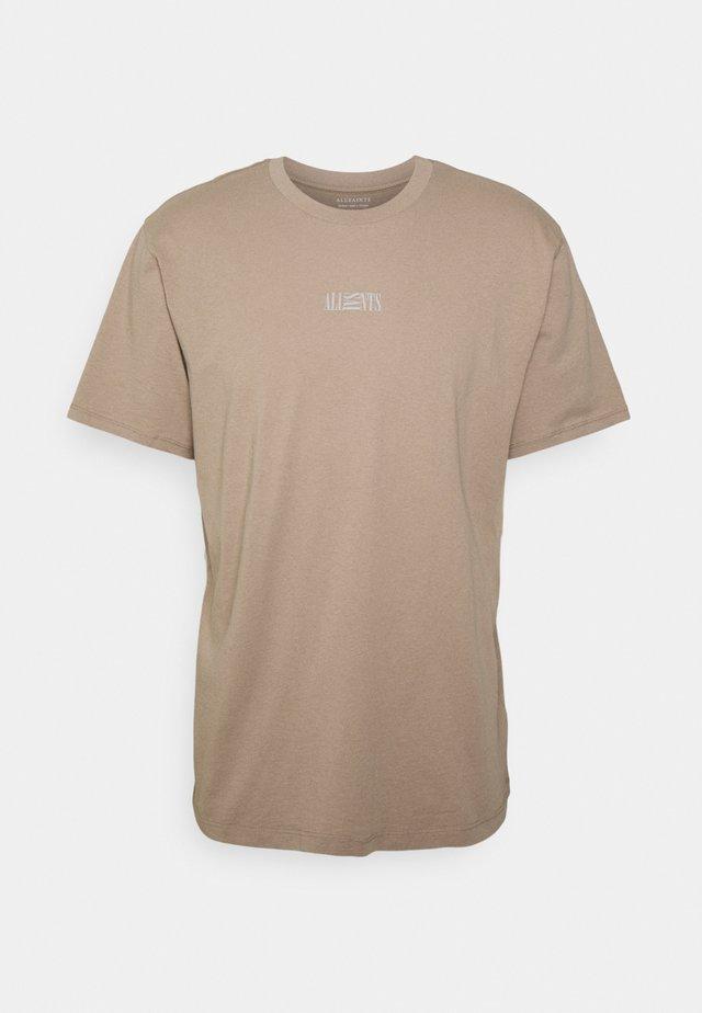 OPPOSITION CREW - T-shirt med print - pewter grey