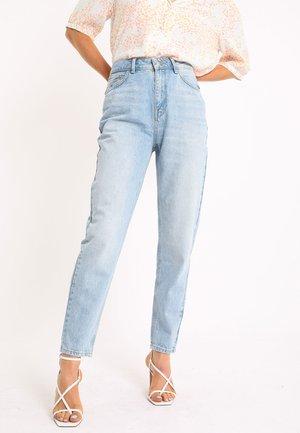 Straight leg jeans - ausgewaschenes blau