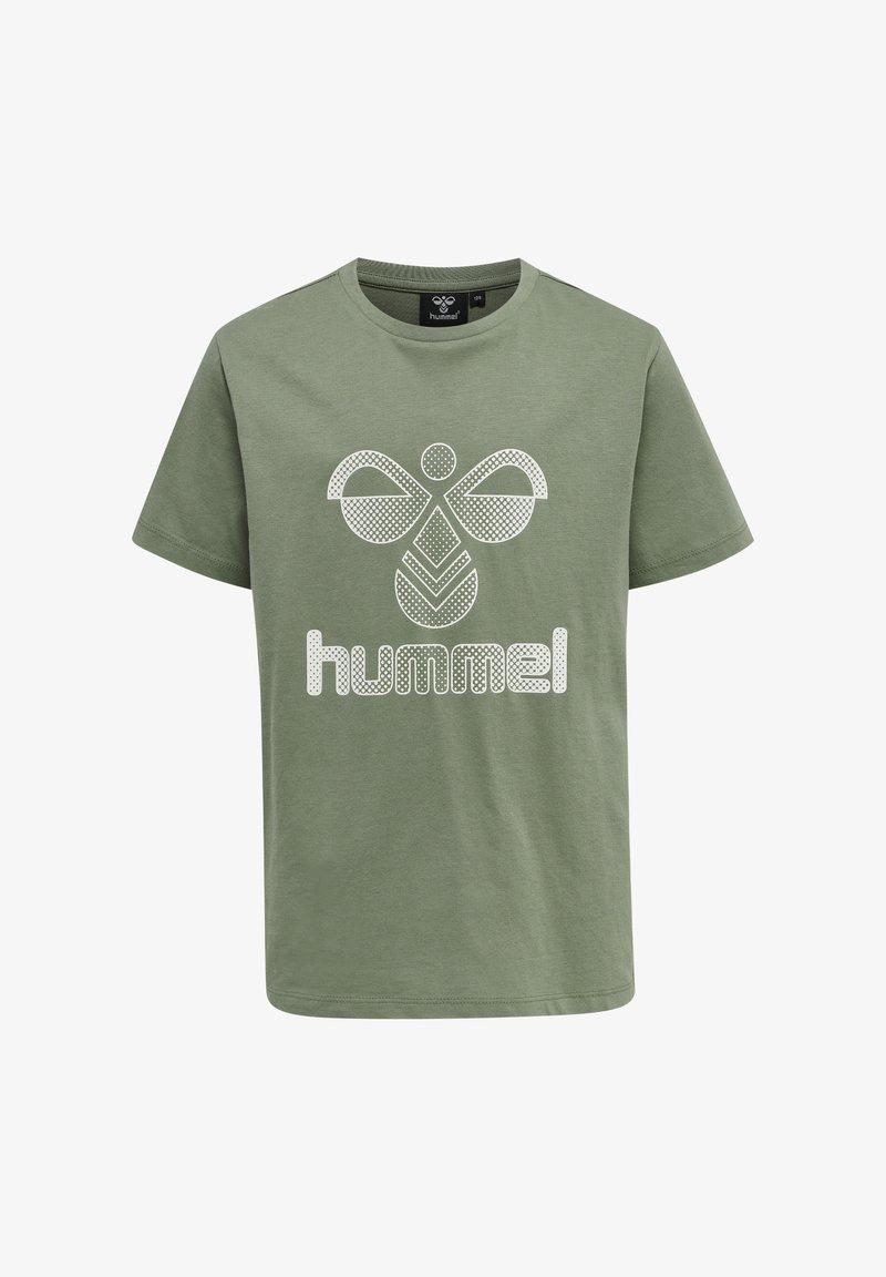 Hummel - HMLPROUD - T-shirts print - sea spray