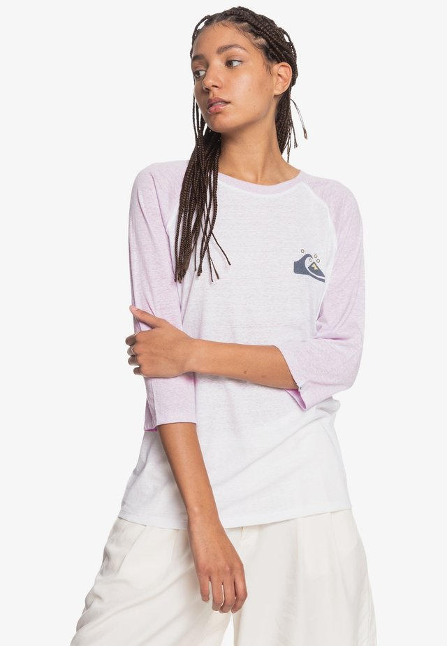 Long sleeved top - pastel lilac