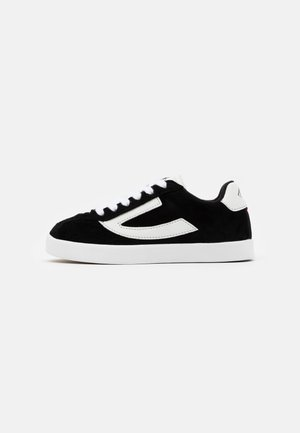 RETRO TRIM UNISEX - Sports shoes - black/eggshell