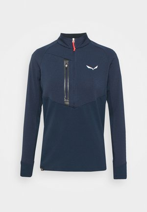 VAJOLET RESPONSIVE - Long sleeved top - navy/black out