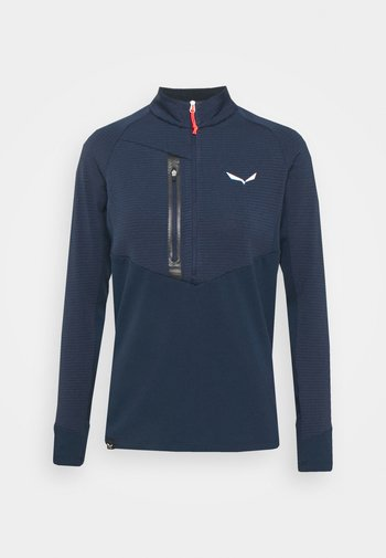 VAJOLET RESPONSIVE - Maglietta a manica lunga - navy/black out