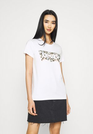 THE PERFECT TEE - Print T-shirt - vanessa floral/fill white
