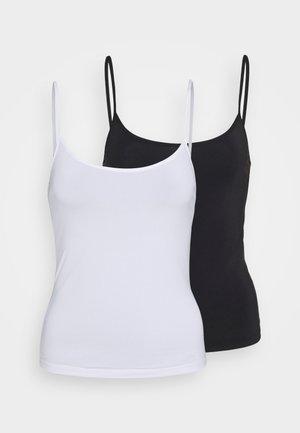 MICRO 2 PACK - Caraco - black/white