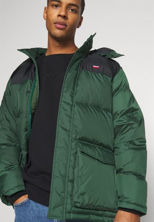 FILLMORE MID  - Down coat - python/green