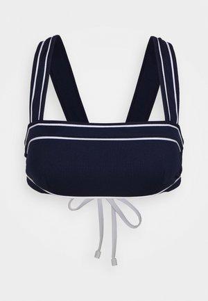 Bikini top - dark navy