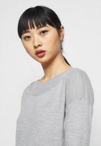 ONLY Petite - ONLAMALIA DRESS - Jumper dress - light grey - 3