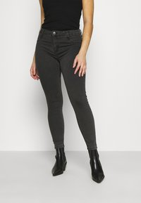 Cotton On - MID RISE - Jeans Skinny Fit - washed black - 0
