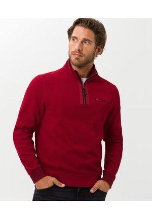 STYLE SION - Sweatshirt - merlot