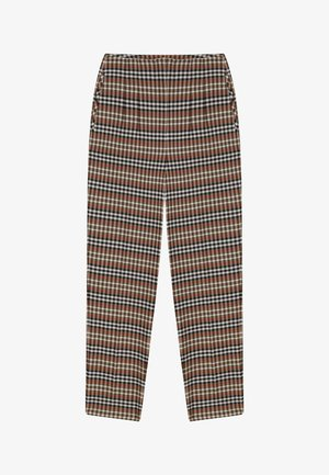 PLAID - Trousers - brown