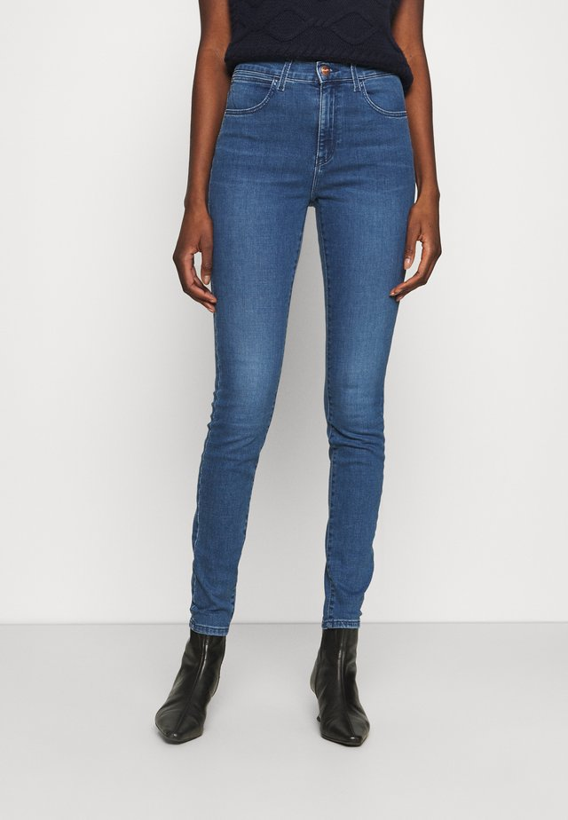 HIGH RISE - Jeansy Skinny Fit - light breeze